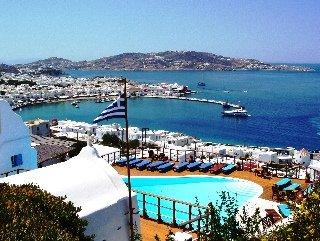 Mykonos View Hotel, Град Миконос