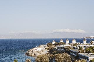 Adonis Хотел, Град Миконос
