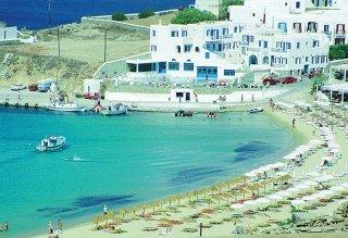 Petinos Beach Хотел, Plati Gialos