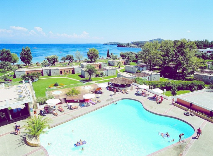 Corfu Chandris Hotel, Дасия