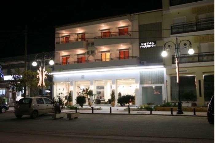 Possidon Hotel Thassos, Град Тасос