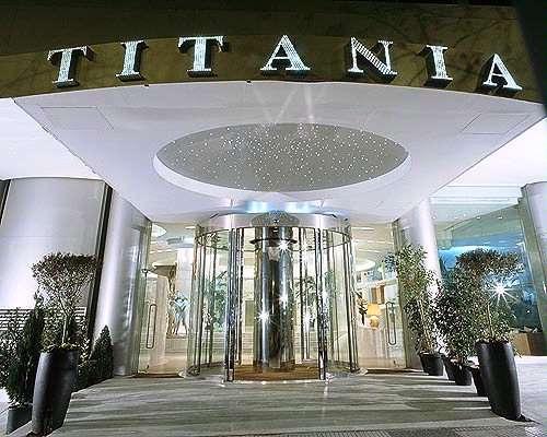 Titania Hotel, Атина