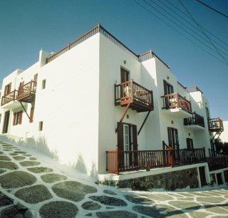 Petasos Town Hotel, Град Миконос