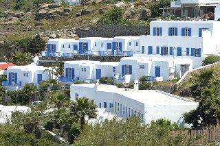 Mykonos Beach Хотел, Мегали Амос