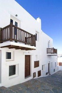 Madres Хотел, Град Миконос